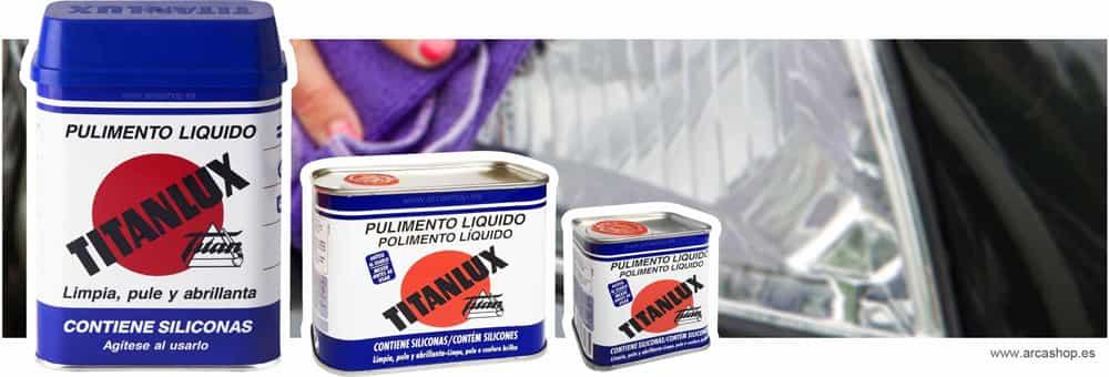 Pulimento l quido limpiador abrillantador titanlux - Pulimento titanlux precio ...