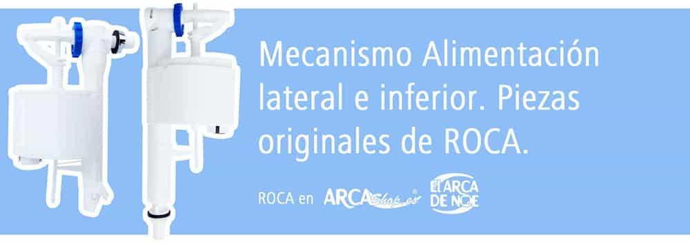 Roca mecanismos alimentaci n universal cisterna baja for Mecanismo de cisterna roca modelo victoria