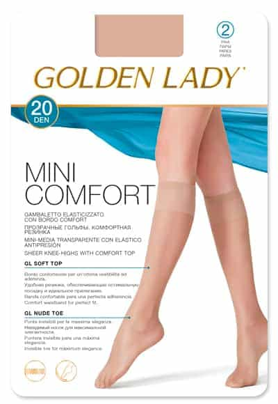 Calcetín Mini Confort 20 DEN Golden Lady