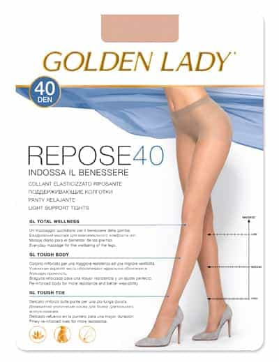 Panty Golden Lady REPOSE 40 DEN