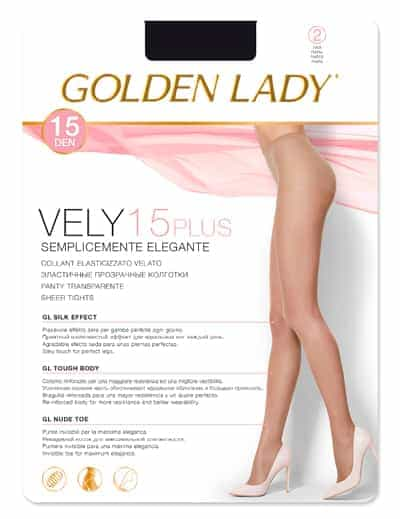 Panty Golden Lady VELY PLUS 15 DEN
