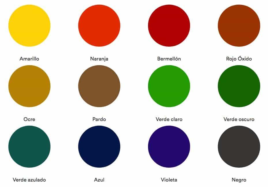 Gama de colores cool gama de colores with gama de colores - Gama de colores de pinturas ...